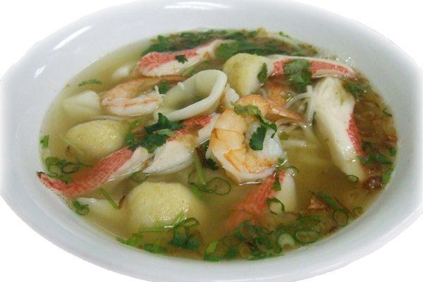 Phở đo bien – Seafood soup