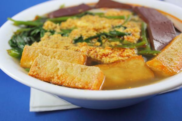 Canh Bún – Crab paste soup