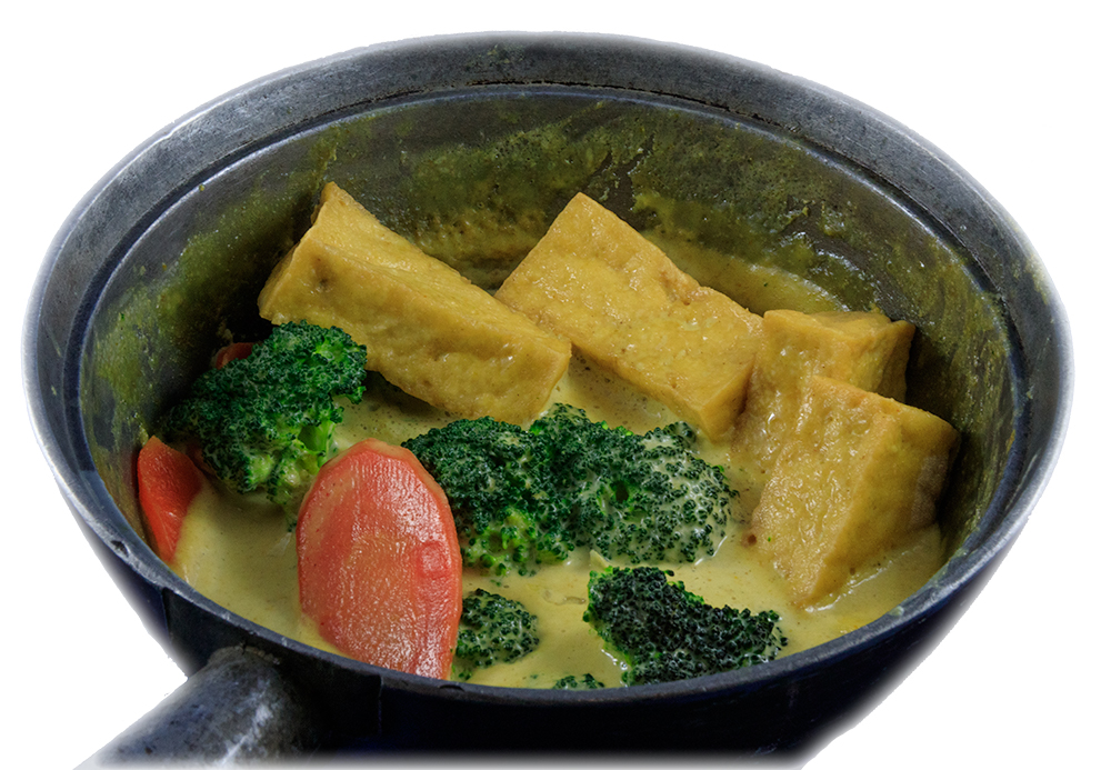Cà ri chay – Vegetarian curry with Tofu