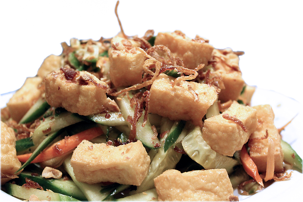 Gỏi dưa leo – Cucumber salad with tofu