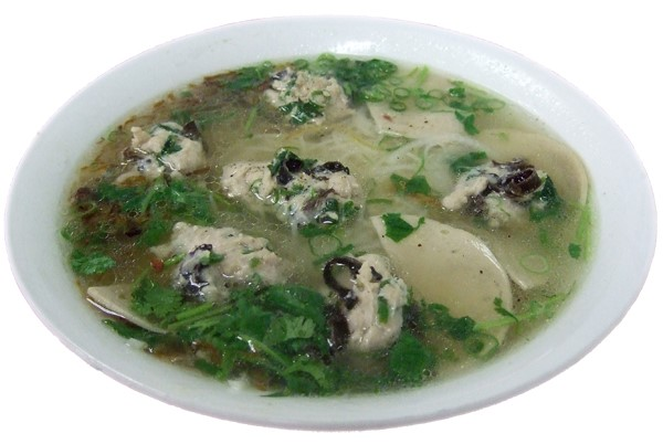 Bún mọc – Special pork soup