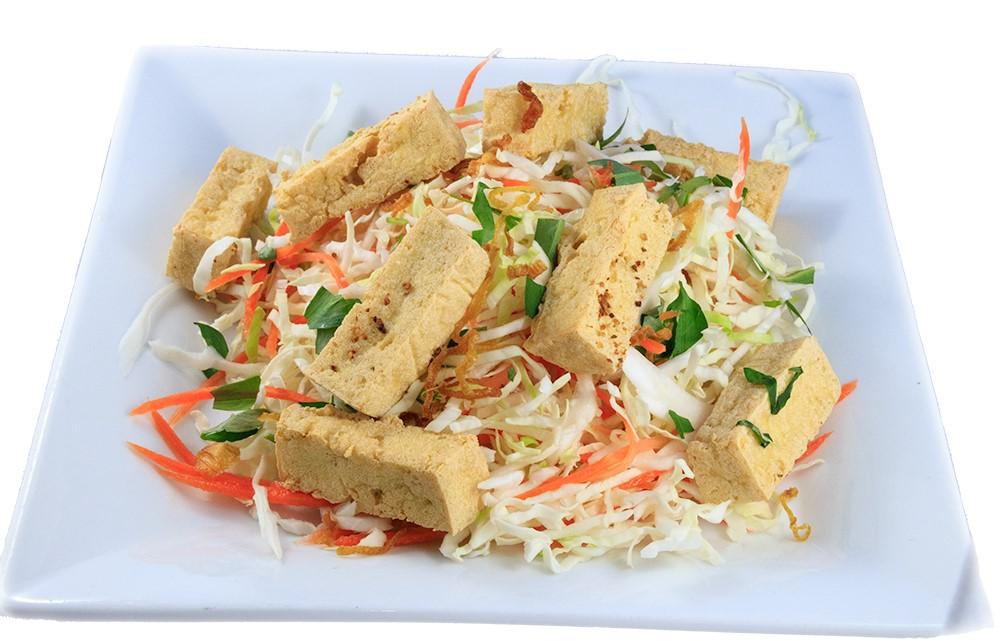 Gỏi bắp cải – Vietnamese Cabbage salad with crispy tofu