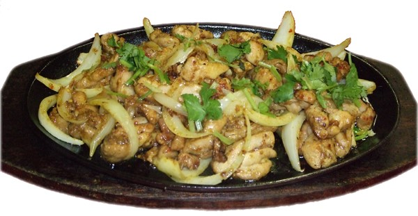 Gà xào xả ớt –  Lemongrass chicken with chili