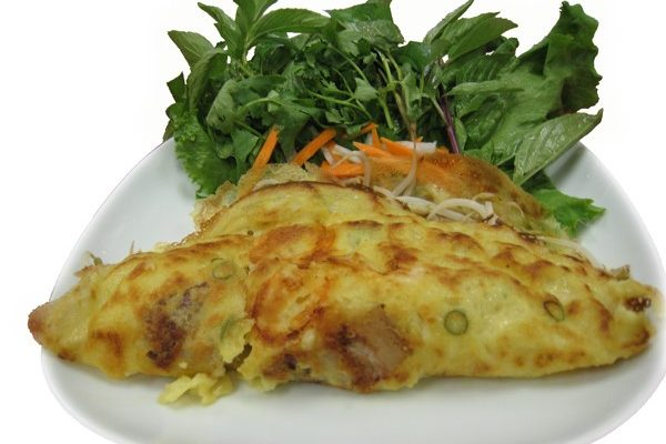 Bánh Xèo  Vietnamese pan fried crepes