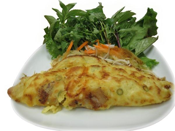 Bánh Xèo  Vietnamese pan fried crepes