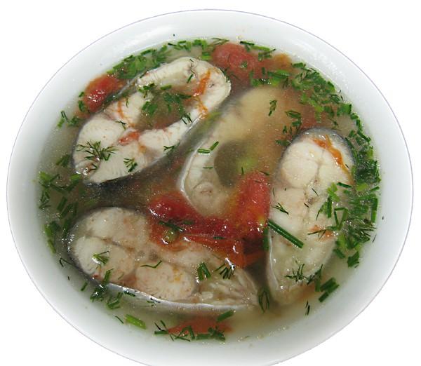 Canh cá nấu thì là – Fish (Basa steak) with fresh dill and tomato soup