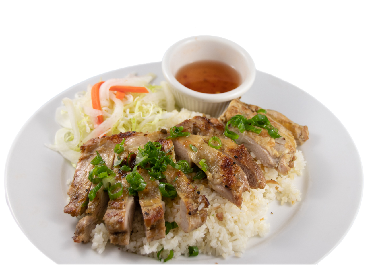 Cơm gà – Barbequed chicken with rice